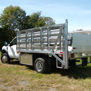 Aluminum Rack with Lift Gate